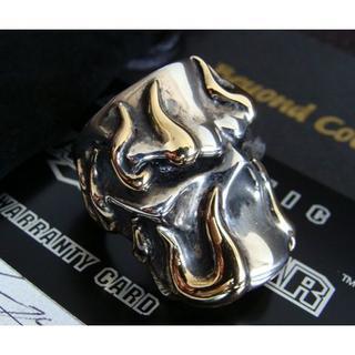 STARLINGEAR スターリンギア ステルリング w/K18フレーム 黄金(リング(指輪))