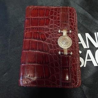ヴェルサーチ(VERSACE)のジャンニ・ヴェルサーチ クロコ型押し手帳(財布)