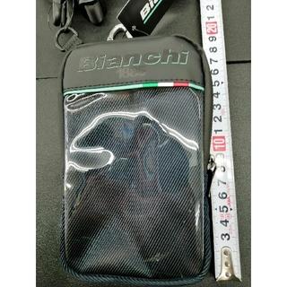 ビアンキ(Bianchi)のBianchi ビアンキ ユニバーサルモバイルポーチ ネイビー 新品(バッグ)