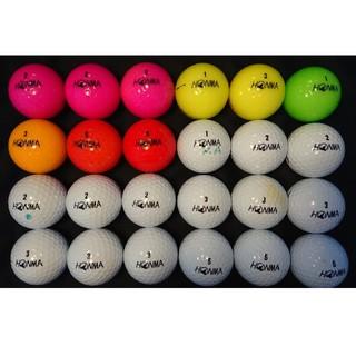 ホンマゴルフ(本間ゴルフ)の③ホンマ D1 24球 ロストボール ゴルフボール(その他)