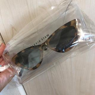 ALEXIA STAM - ALEXIA STAM アリシアスタン ノベルティ サングラス UV キャット