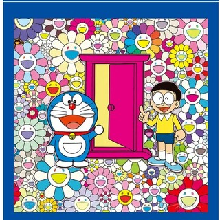 azusa様専用 村上隆 ポスター お花畑の中の「どこでもドア」(ポスター)