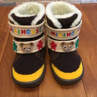 ミキハウス(mikihouse)のミキハウス プッチーくん ブーツ(ブーツ)