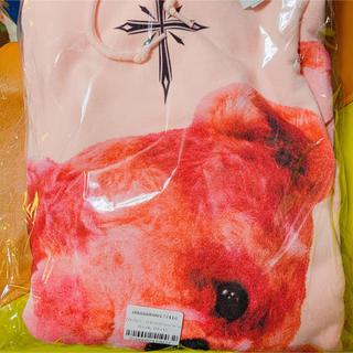ミルクボーイ(MILKBOY)の8月いっぱい迄 TRAVAS TOKYO クマ パーカー 新品未使用品(パーカー)