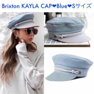 ルームサンマルロクコンテンポラリー(room306 CONTEMPORARY)の新品 未試着 キャスケット 帽子 Brixton KAYLA CAP ❤︎ S(キャスケット)
