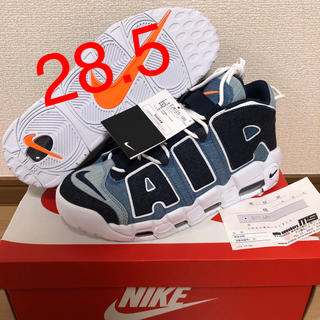 ナイキ(NIKE)の【28.5】NIKE AIR MORE UPTEMPO 96 QS DENIM(スニーカー)