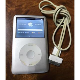 アップル(Apple)のiPod classic 80GB◆充電コード付き(ポータブルプレーヤー)