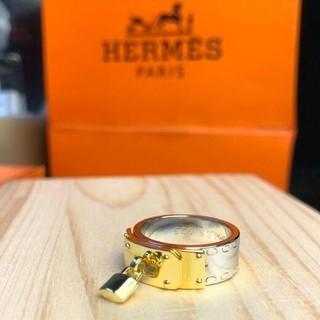 エルメス(Hermes)の[正規品] HERMES シルバーリング シェーヌダングル 磨き済み12号(リング(指輪))