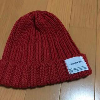 トゥデイフル(TODAYFUL)のトゥデイフルニット帽(ニット帽/ビーニー)