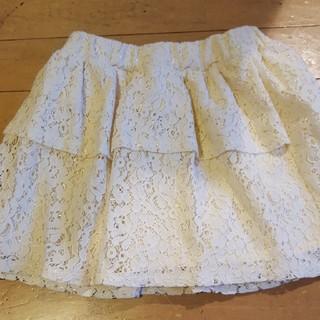 ジーユー(GU)のgu☆インナーパンツ付きスカート 120(スカート)
