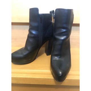 ナノユニバース(nano・universe)のナノユニバース レディース ブーツ 靴 黒(ブーツ)