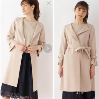 クチュールブローチ(Couture Brooch)の試着のみ♡クチュールブローチ♡リボンベルト付コート(ロングコート)