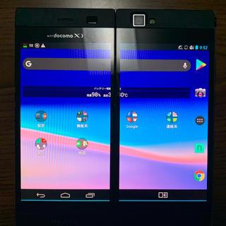 エヌイーシー(NEC)の「二画面スマホ」N-05E (スマートフォン本体)