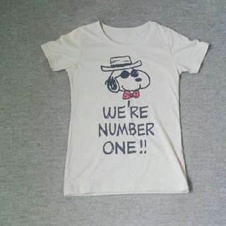 スヌーピー(SNOOPY)の【美品】スヌーピー 半袖 Tシャツ(Tシャツ(半袖/袖なし))