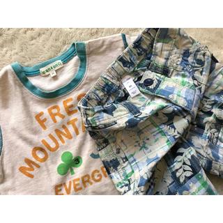サンカンシオン(3can4on)のbaby GAP パンツ 3can4on Tシャツ 上下セット 90(Tシャツ/カットソー)