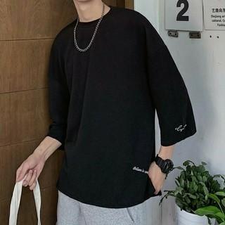 ビッグシルエットTシャツ ブラック XLサイズ(Tシャツ/カットソー(半袖/袖なし))