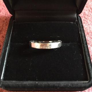カルティエ(Cartier)のカルティエ ラニエールリング ホワイトゴールドWG K18 T48(リング(指輪))