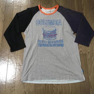 コロンビア(Columbia)の最終値下げ!コロンビア ハンバーガー ラグランTシャツ(Tシャツ/カットソー(七分/長袖))