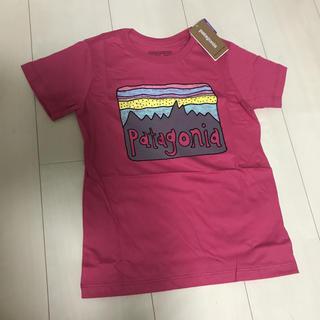 新品 パタゴニア キッズ Tシャツ 女の子