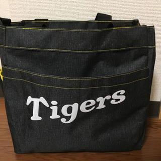 ハンシンタイガース(阪神タイガース)の阪神タイガース デニム風トートバッグ(応援グッズ)