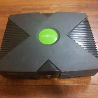 エックスボックス(Xbox)の初代 XBOX 本体のみ(家庭用ゲーム機本体)