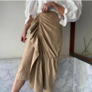 アメリヴィンテージ(Ameri VINTAGE)のフリルスカート(ひざ丈スカート)