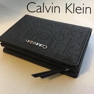カルバンクライン(Calvin Klein)の新品 Calvin Klein モノグラム 折財布(財布)