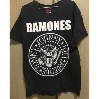 ビームス(BEAMS)のビッグサイズロックT ラモーンズ 古着 ヴィンテージ(Tシャツ(半袖/袖なし))