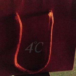ヨンドシー(4℃)の4℃ 紙袋(ショップ袋)