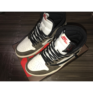 ナイキ(NIKE)のNIKE AIR JORDAN 1 HIGH OG TS SP(スニーカー)