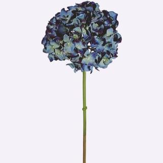 新品 あじさい ダークブルー色 クラシカルハイドレンジア 紫陽花 造花(その他)