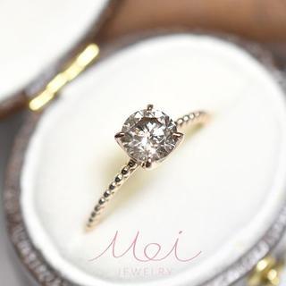 セールお値下げ!0.821ct 天然 ダイヤモンド リング メイジュエリー(リング(指輪))