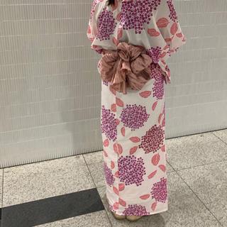 ダブルクローゼット(w closet)の浴衣 紫陽花 ピンク 紫  (浴衣)