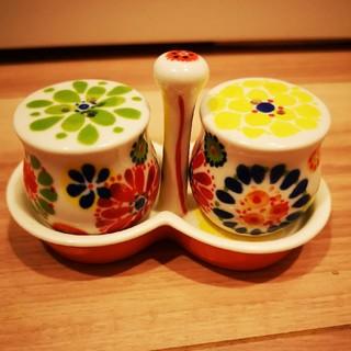 アンソロポロジー(Anthropologie)の塩コショウ入れ アンソロポロジー 陶器(テーブル用品)