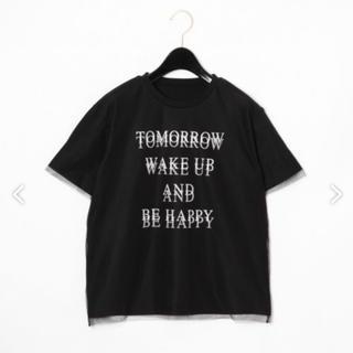 グレースコンチネンタル(GRACE CONTINENTAL)のグレース ロゴプリントTシャツ(Tシャツ/カットソー(半袖/袖なし))