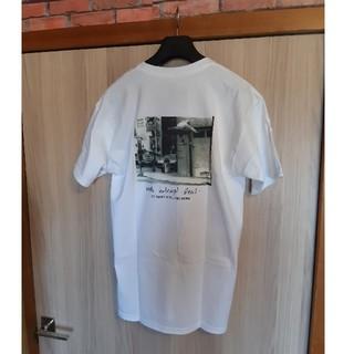 ハフ(HUF)の新品未使用品▲HUF▲REALコラボ SKATE フォトTシャツ ホワイト 白M(Tシャツ/カットソー(半袖/袖なし))