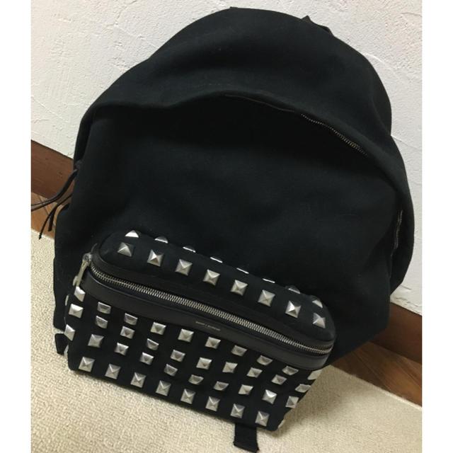 Saint Laurent(サンローラン)のサンローランのスタッズリュック メンズのバッグ(バッグパック/リュック)の商品写真