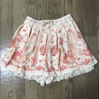 リズリサ(LIZ LISA)のリズリサ スカート風ショートパンツ(ショートパンツ)
