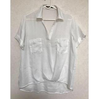 チャオパニック(Ciaopanic)の半袖☆白シャツ☆(シャツ/ブラウス(半袖/袖なし))