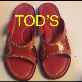 トッズ(TOD'S)のTOD'S トッズ サンダル 34ハーフ(ハイヒール/パンプス)