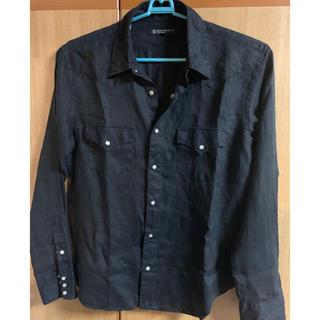 UNITED ARROWS - UNITED ARROW 黒 シャツ