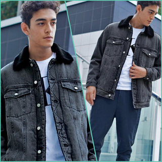 カルバンクライン(Calvin Klein)のCalvin Klein Jeans-パデッド デニムジャケット(Gジャン/デニムジャケット)