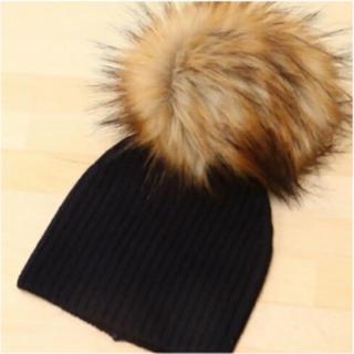 スナイデル(snidel)のsnidel・ファーニット帽(ニット帽/ビーニー)