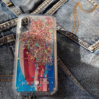 シールームリン(SeaRoomlynn)のSeaRoomlynn (シールームリン ) CLEARラメiPhoneケース(iPhoneケース)