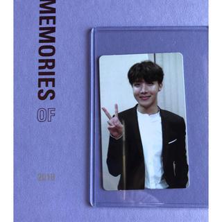 ボウダンショウネンダン(防弾少年団(BTS))のBTS MEMORIES OF 2018 DVD JHOPE トレカ(写真/ポストカード)
