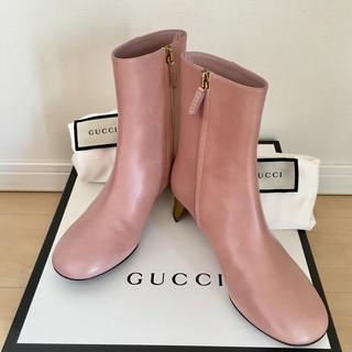 グッチ(Gucci)のGUCCI ショートブーツ 未使用品(ブーツ)