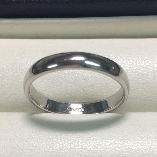 ★りーな様・専用ページ★プラチナPt900・甲丸デザインリング★サイズ19号★ レディースのアクセサリー(リング(指輪))の商品写真