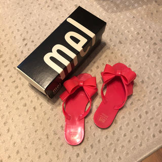 メリッサ(melissa)の箱、説明書つき  Melissa  サンダル19センチ(サンダル)