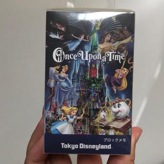 ディズニー(Disney)のワンスアポンアタイム メモ ブロック(ノート/メモ帳/ふせん)