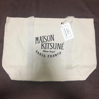 MAISON KITSUNE' - メゾンキツネ MAISON KITSUNE ロゴトートバッグ 新品